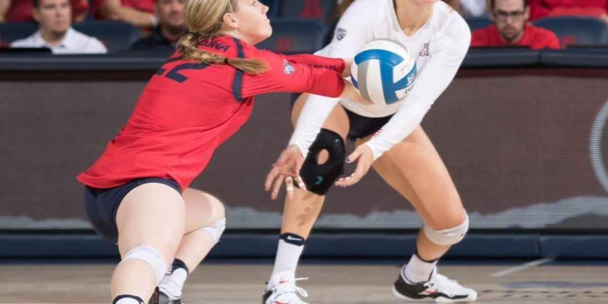 Arizona Volleyball falls to No. 13 UCLA