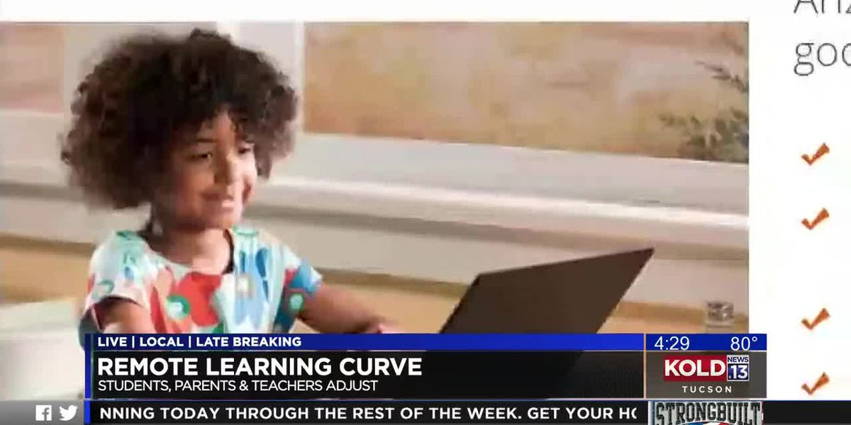 Arizona principal gives tips on how to keep students on track while learning from home