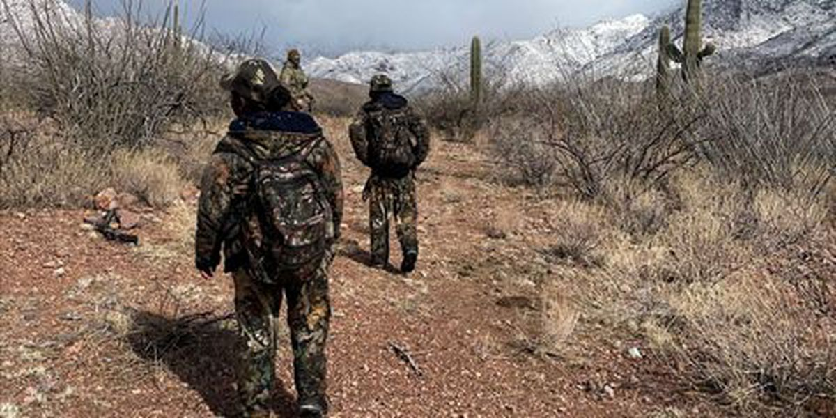 Tucson Sector agents rescue two migrants in Baboquivari Mountains