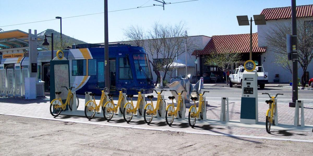 Tucson bike share program pedals forward