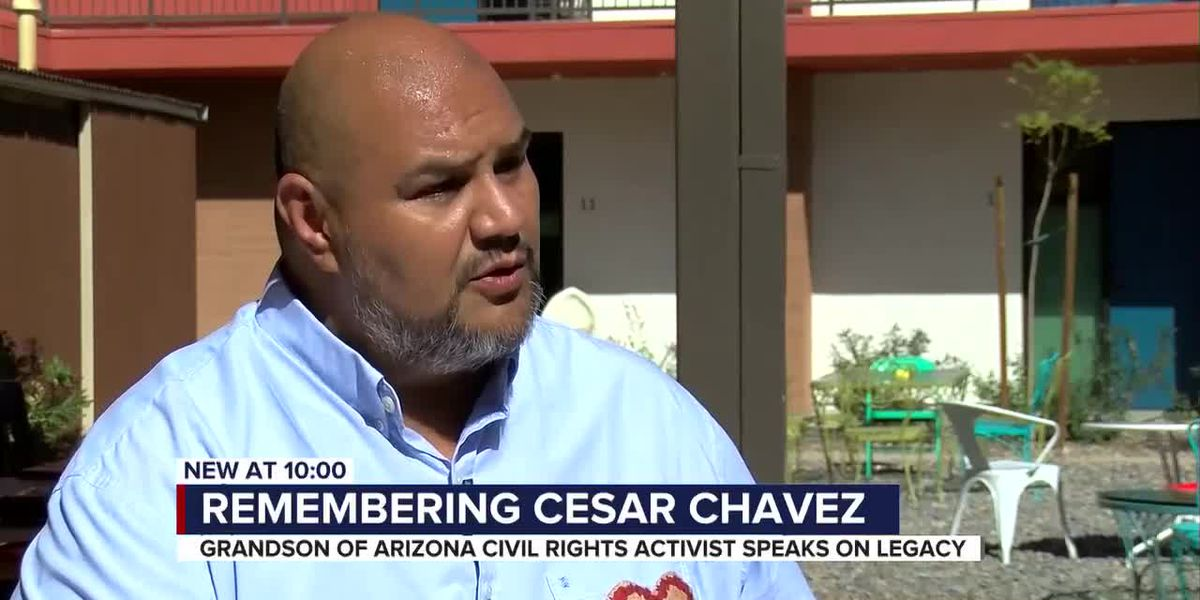 Alejandro Chavez honors legacy of his grandfather César Chávez