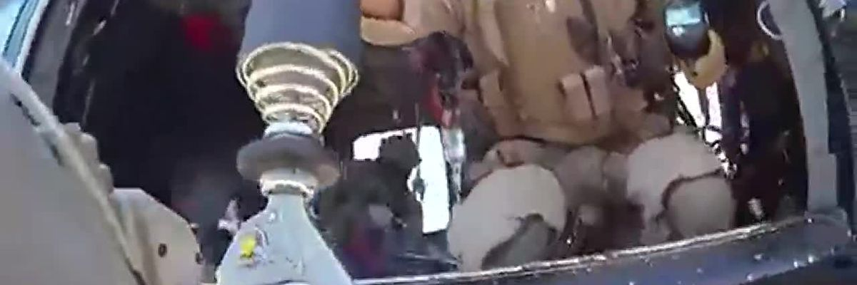 Border Patrol agents airlift unconscious man pushed to limit from human smugglers