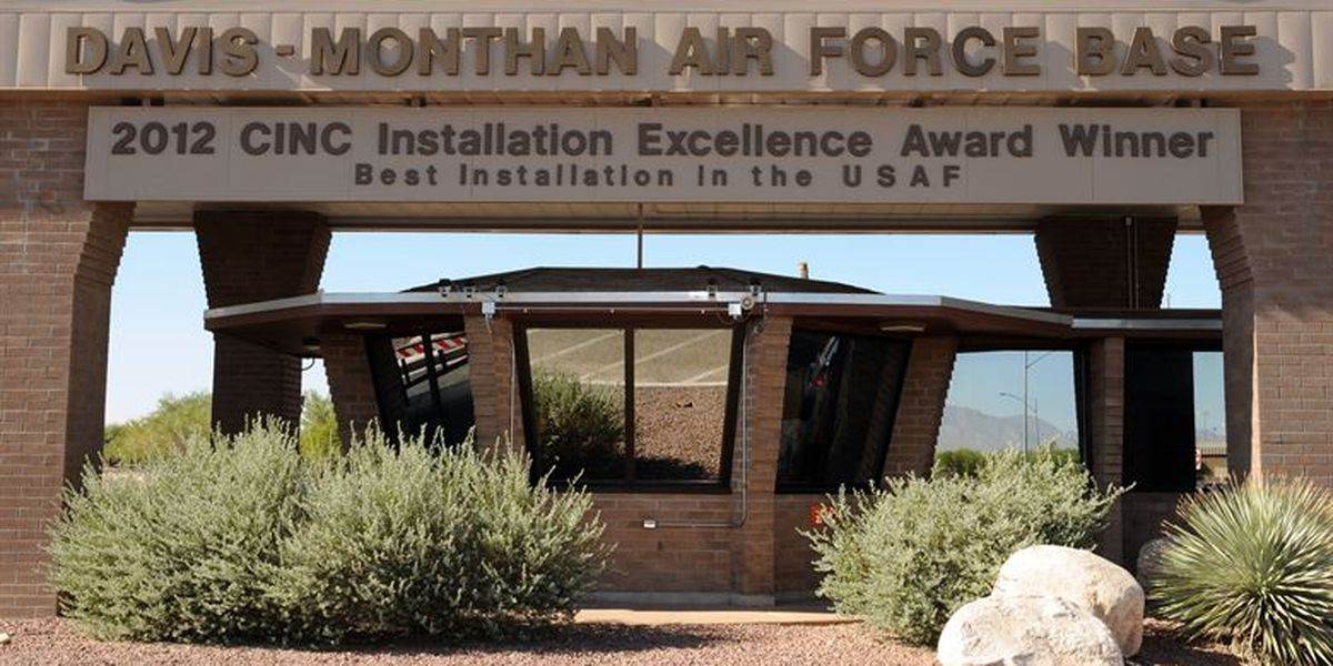 Davis-Monthan releases flight path, schedule for Thursday's flyover to honor medical workers