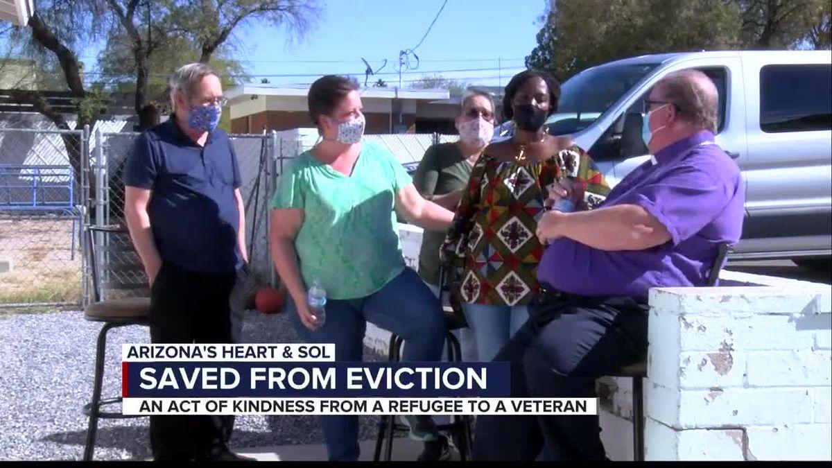 ARIZONA'S HEART & SOL: Single mom saves disabled veteran from eviction