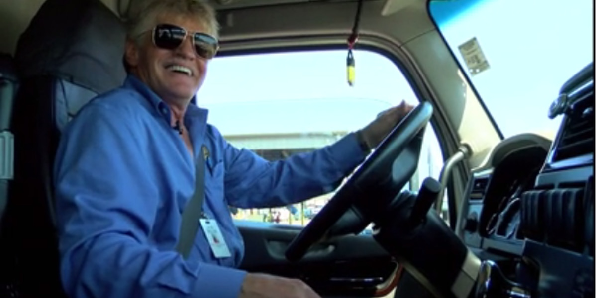 Trucker recognized for traveling 9 million miles accident free