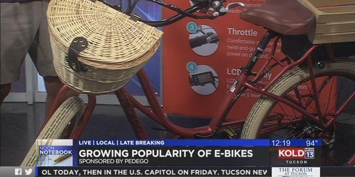 Noon Notebook: Growing popularity of e-bikes