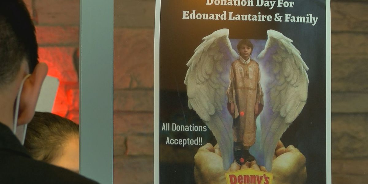 Denny's raises funds for family of boy killed in hit-and-run