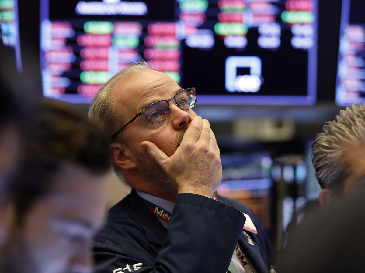 Dow surges 5% on hopes for central bank help on the economy
