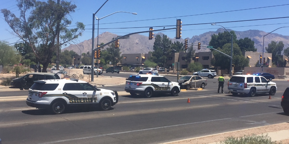 One person critically injured in collision at the intersection of River and La Canada