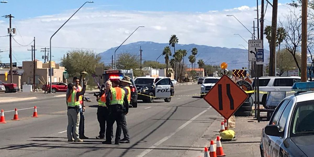 UPDATE: Police reopen south-side intersection after pedestrian struck by vehicle