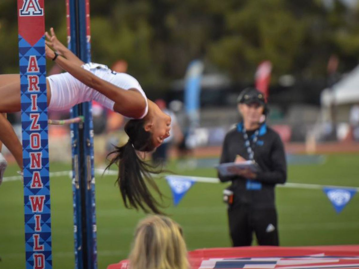 #Pac12TF: Geist named top male athlete; Teran wins women's high jump