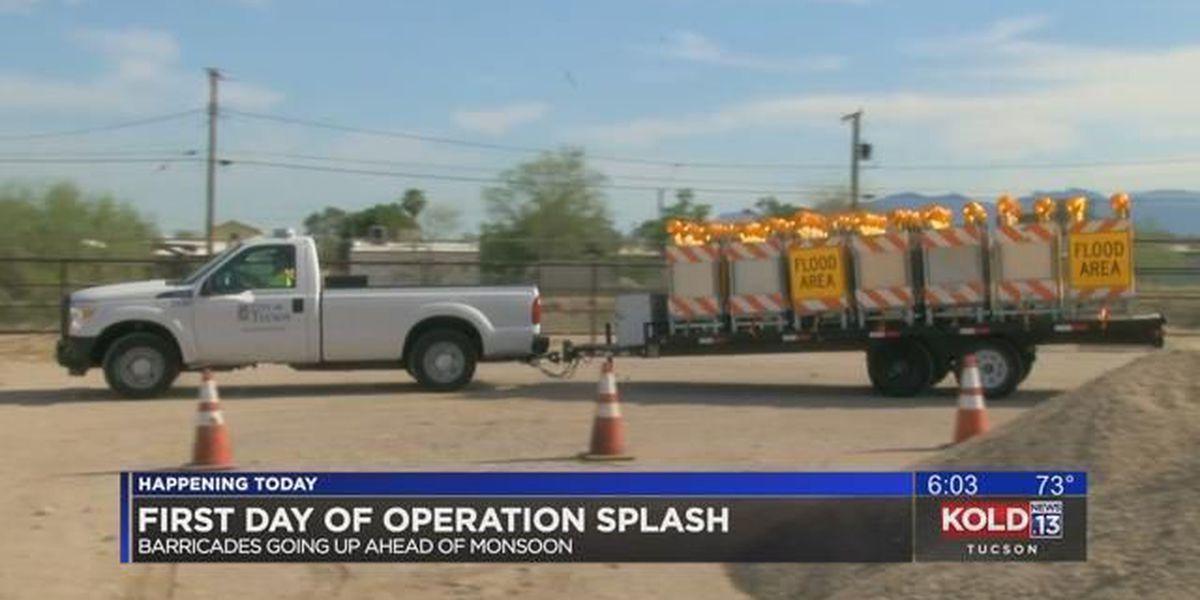 TDOT prepares for monsoon with Operation Splash