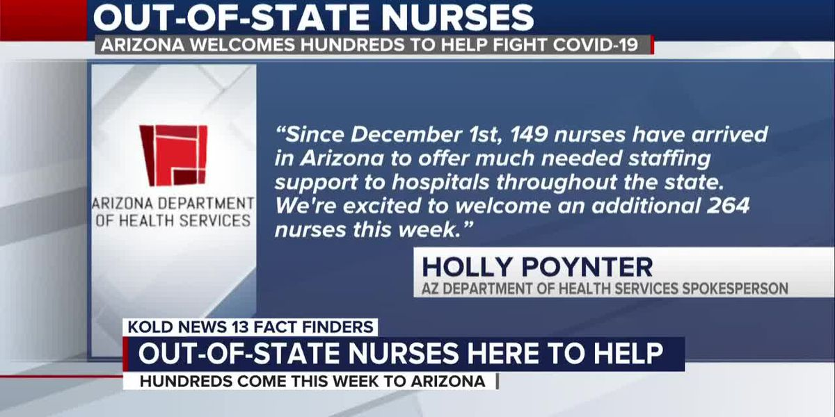 FAST FINDERS: Out-of-state nurses arrive in biggest numbers yet