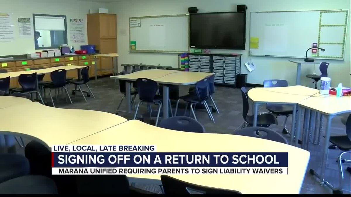 Parents asked to sign COVID-19 waiver for in-person learning