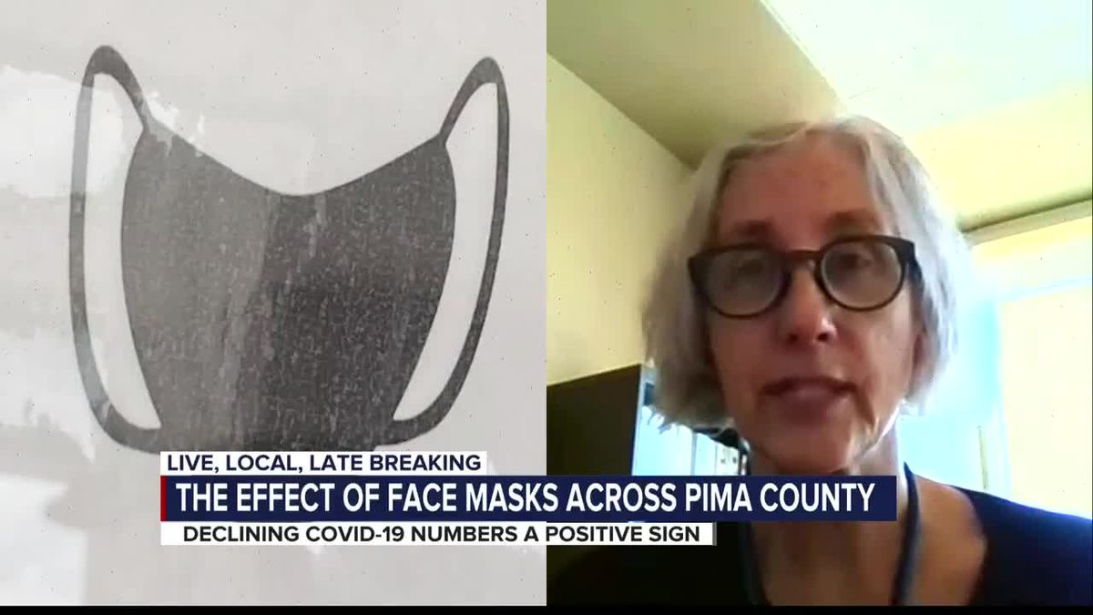 COVID-19 cases in Pima County dropping due to mask efficacy, officials say