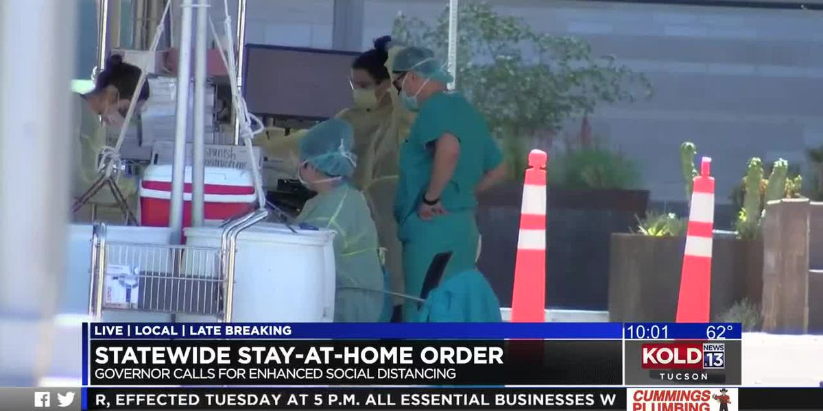 Stay-at-home order issued for Arizona; Tucsonans respond