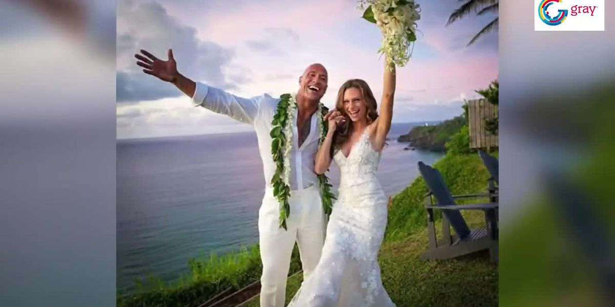"Dwayne ""The Rock"" Johnson marries long-time girlfriend"