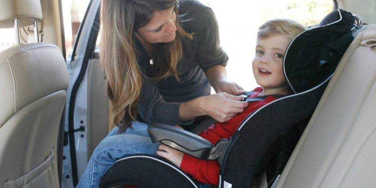 PCSD holding car seat safety class