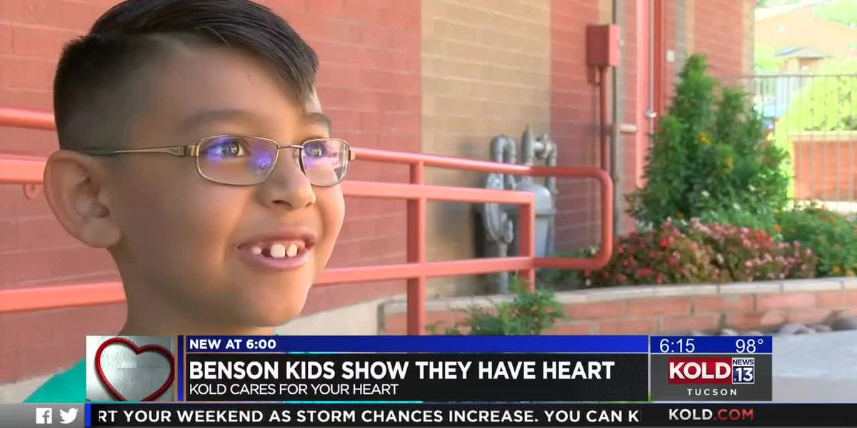 KOLD CARES: Two Benson boys raise money to 'help people ... save lives'