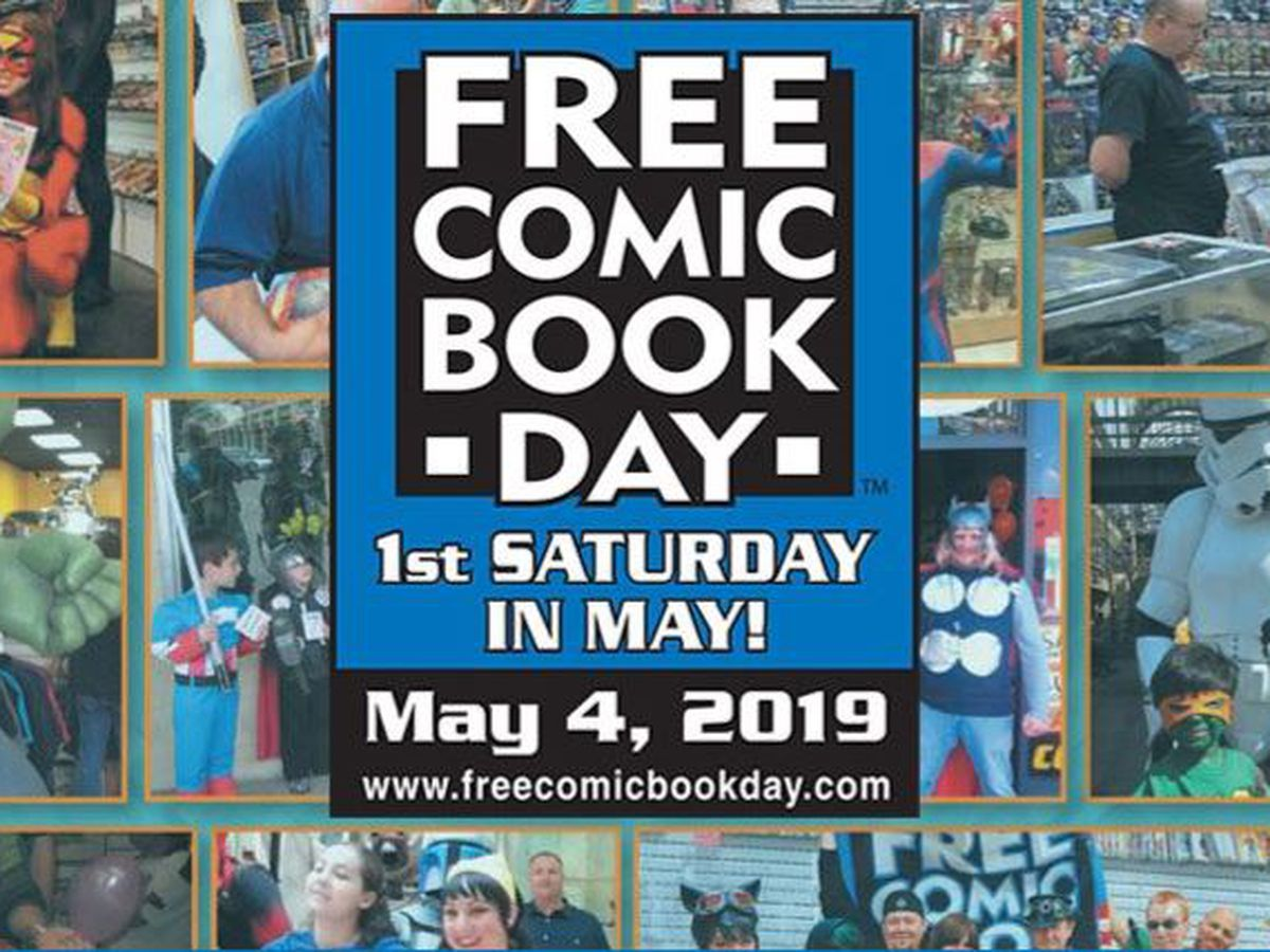 Free comic book giveaway this weekend