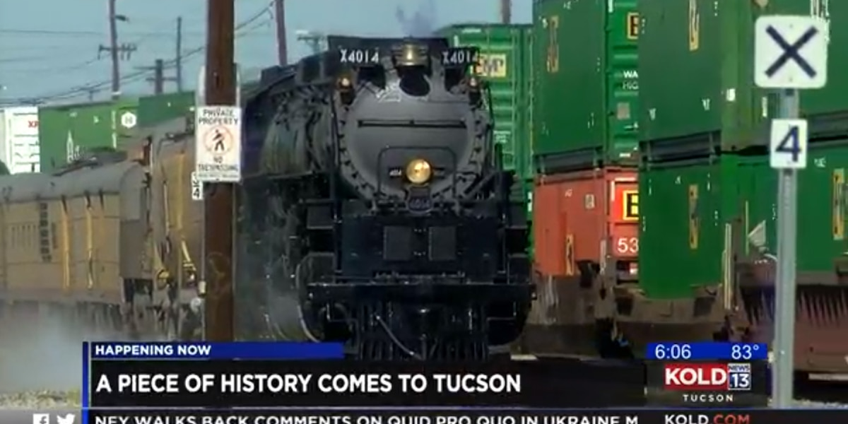 A piece of history makes its way to Tucson
