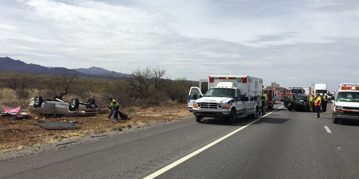 UPDATE: Officials reopen EB I-10 after injury crash