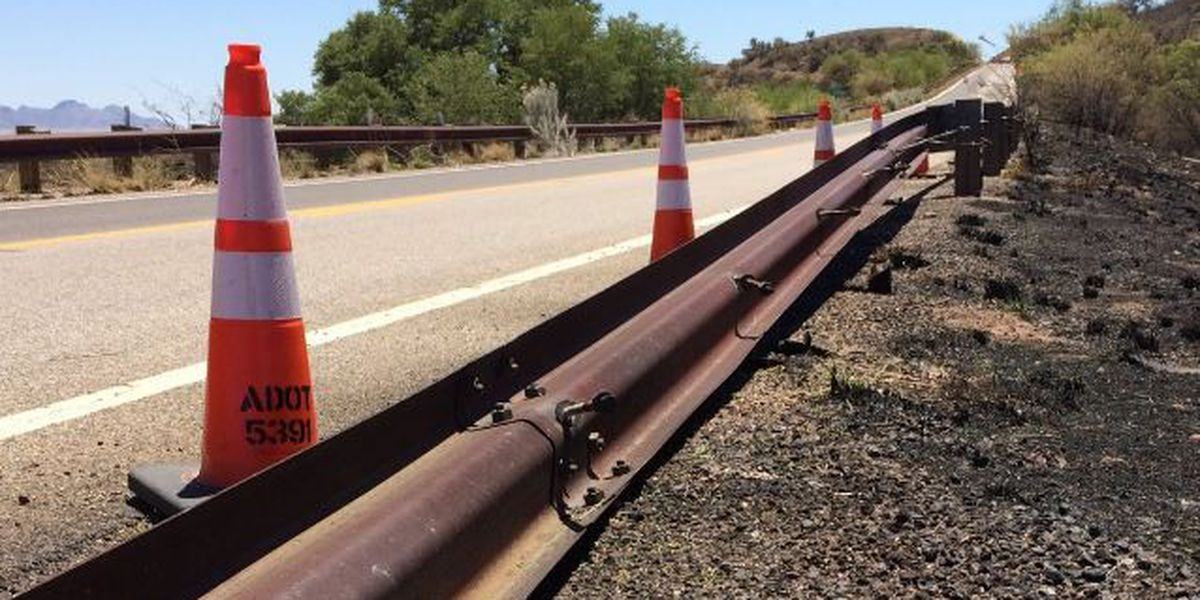 ADOT: Restrictions on SR-83 lifted, guardrail repaired