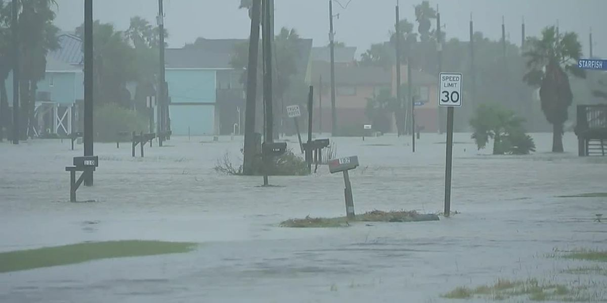 Tropical Storm Beta brings flooding
