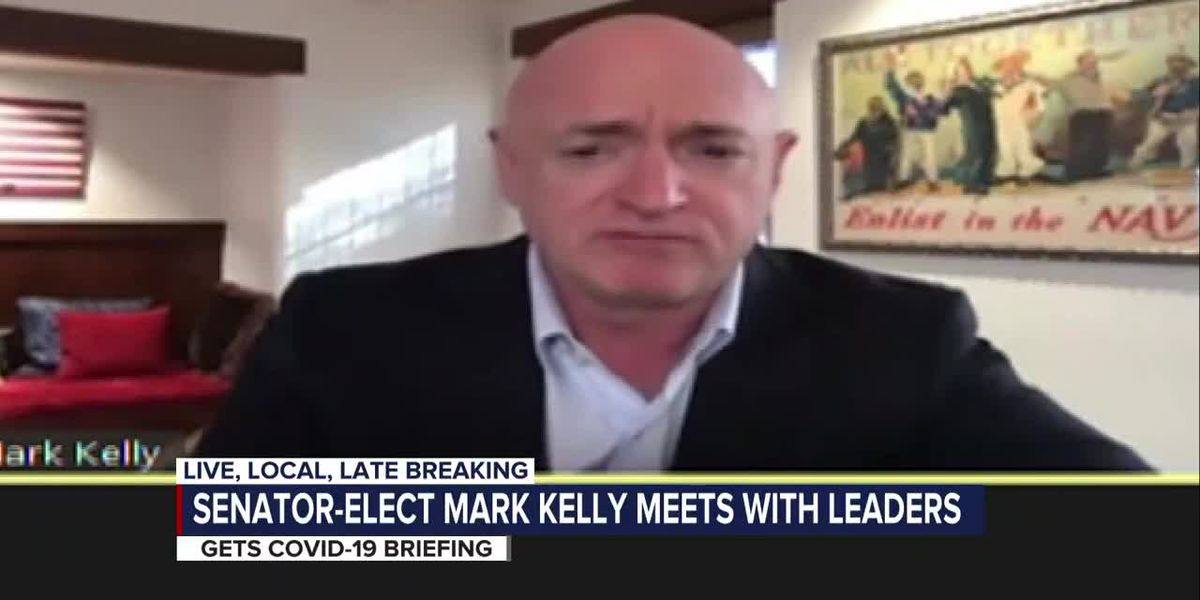 Senator-Elect Mark Kelly discusses economy concerns with local leaders