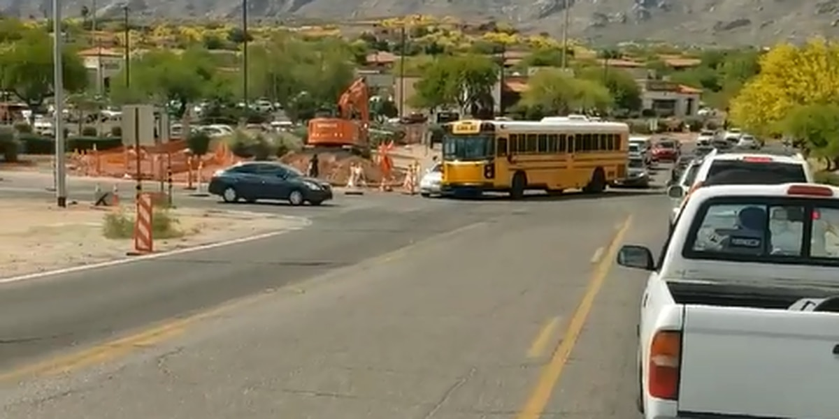 No injuries after Catalina Foothills school bus crash