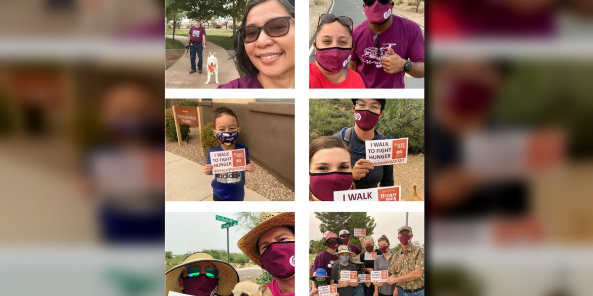 Virtual HungerWalk raises over $100,000 to fight hunger in southern Arizona