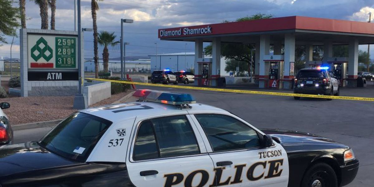 Man shot at gas station on Tucson's south side