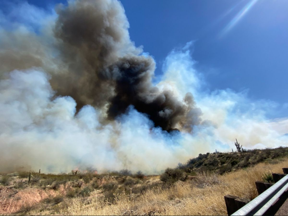 UPDATE: Tonto Basin fire prompts evacuations, road closures