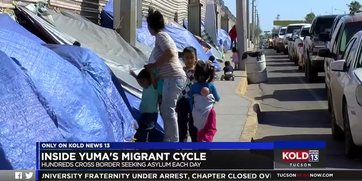 ONLY ON: Inside Yuma's migrant cycle