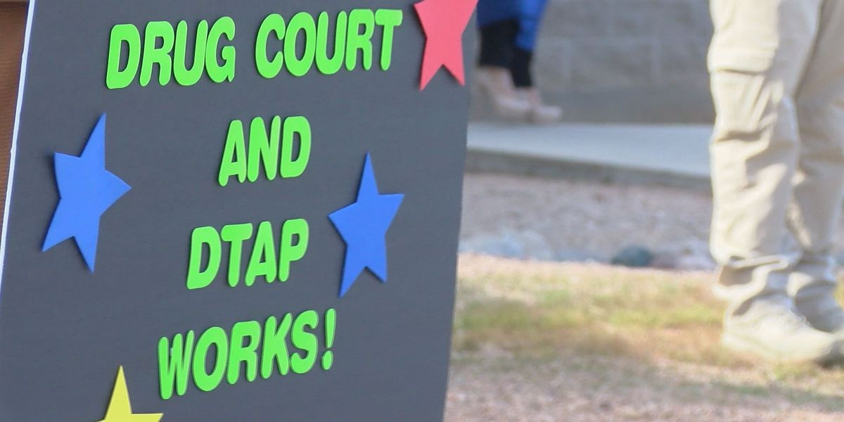 Graduates from Pima County's Drug Court and DTAP celebrate their second chance