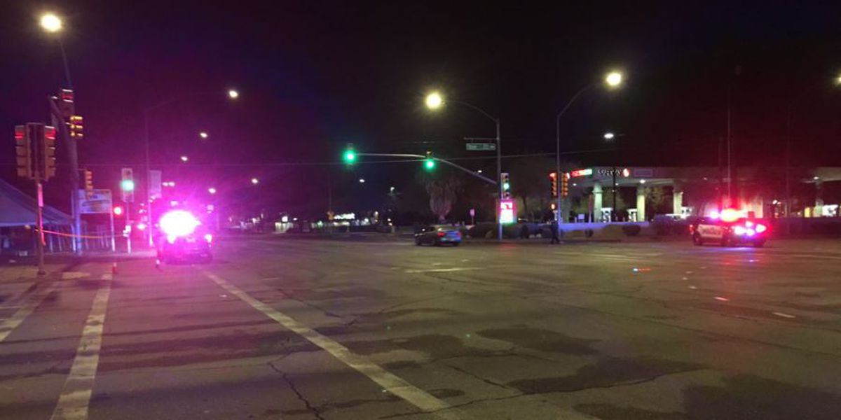 UPDATE: Broadway reopens after pedestrian struck; portion of Campbell remains closed