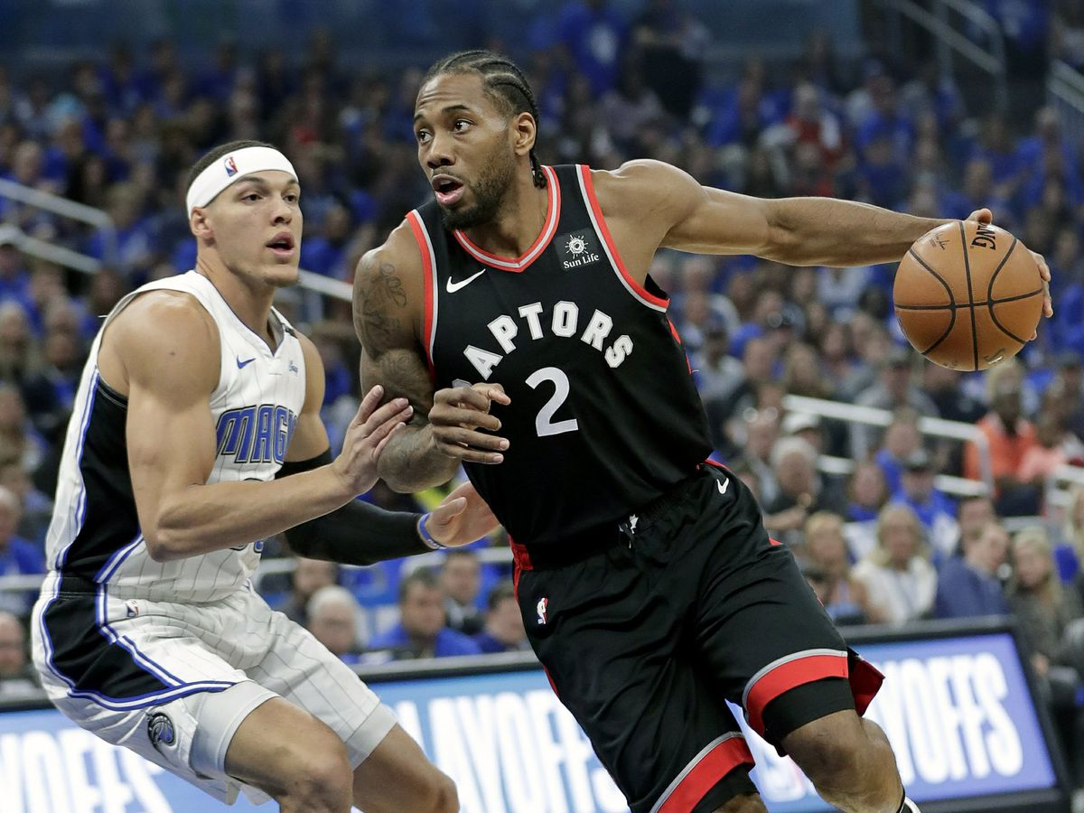 Leonard scores 34, Raptors top Magic 107-85 for 3-1 lead