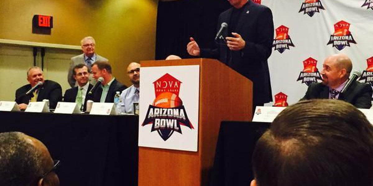 Organizers, officials celebrate Nova Home Loans Arizona Bowl