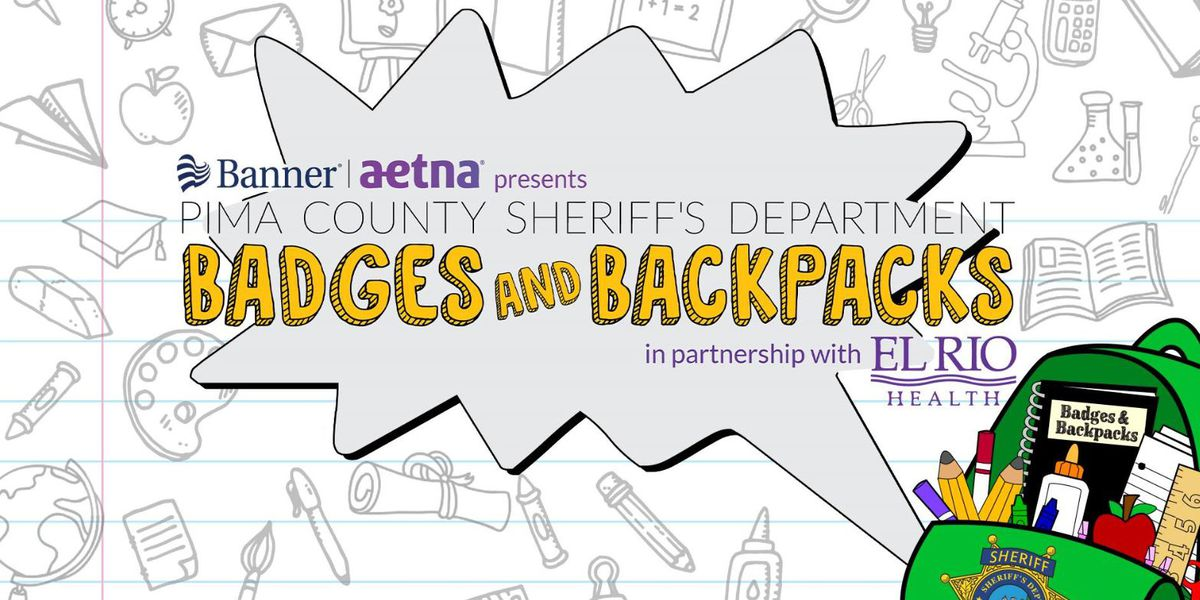 PCSD: Badges and Backpacks event for school kids