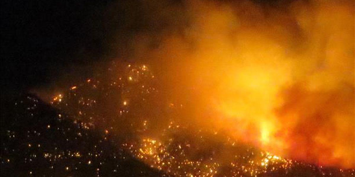 Paige Creek Fire at 500 acres