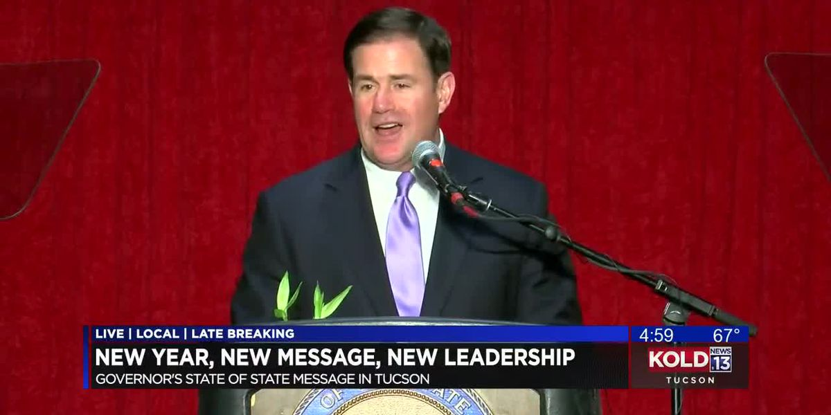 Governor Doug Ducey pledges working relationship with new Tucson Mayor