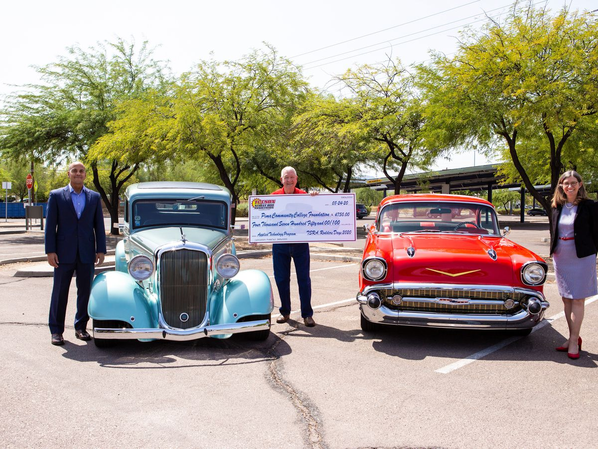 Virus puts brakes on car show, but charity motors on