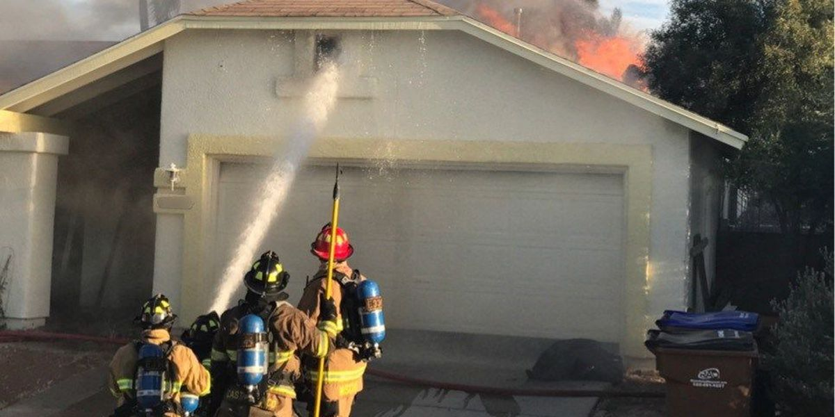 UPDATE: Fire crews put out attic fire at a home on Northwest side