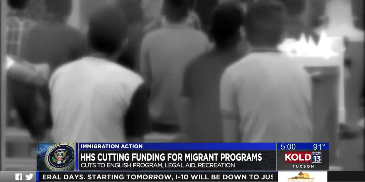 HHS cutting funding for migrant programs