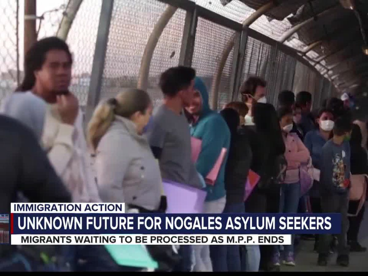 Asylum-seekers under MPP in Nogales are stilling having to wait to be processed