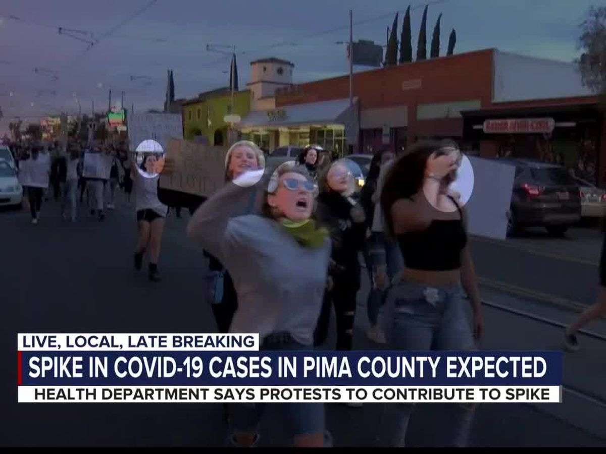 Health officials expect a spike in COVID-19 cases following protests