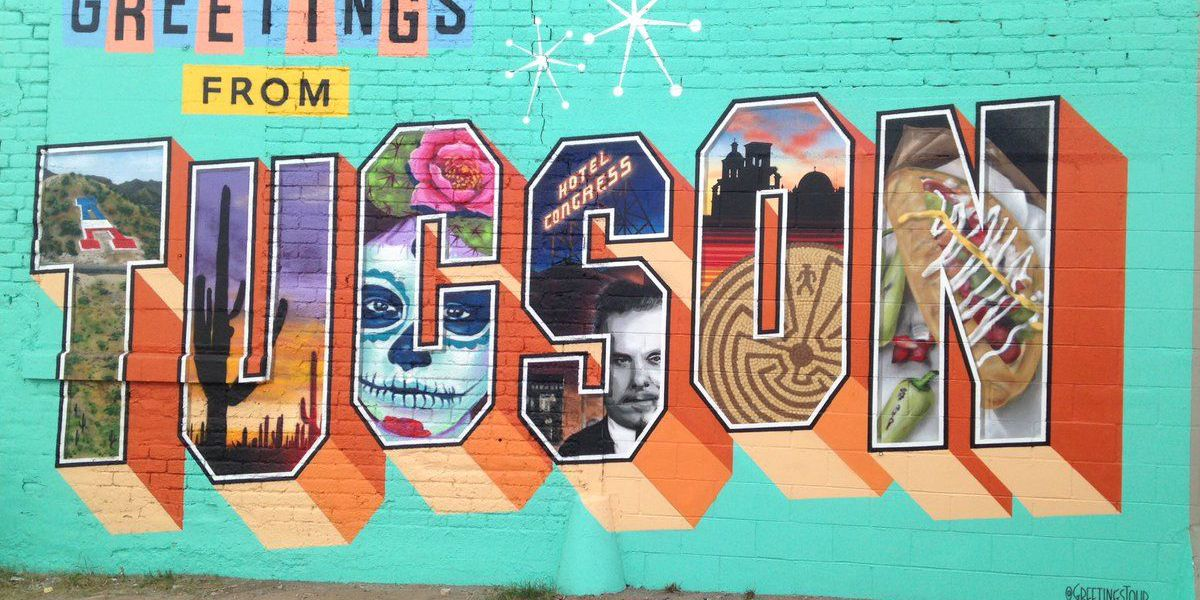 'Greetings Tour' makes stop in Tucson to paint new mural