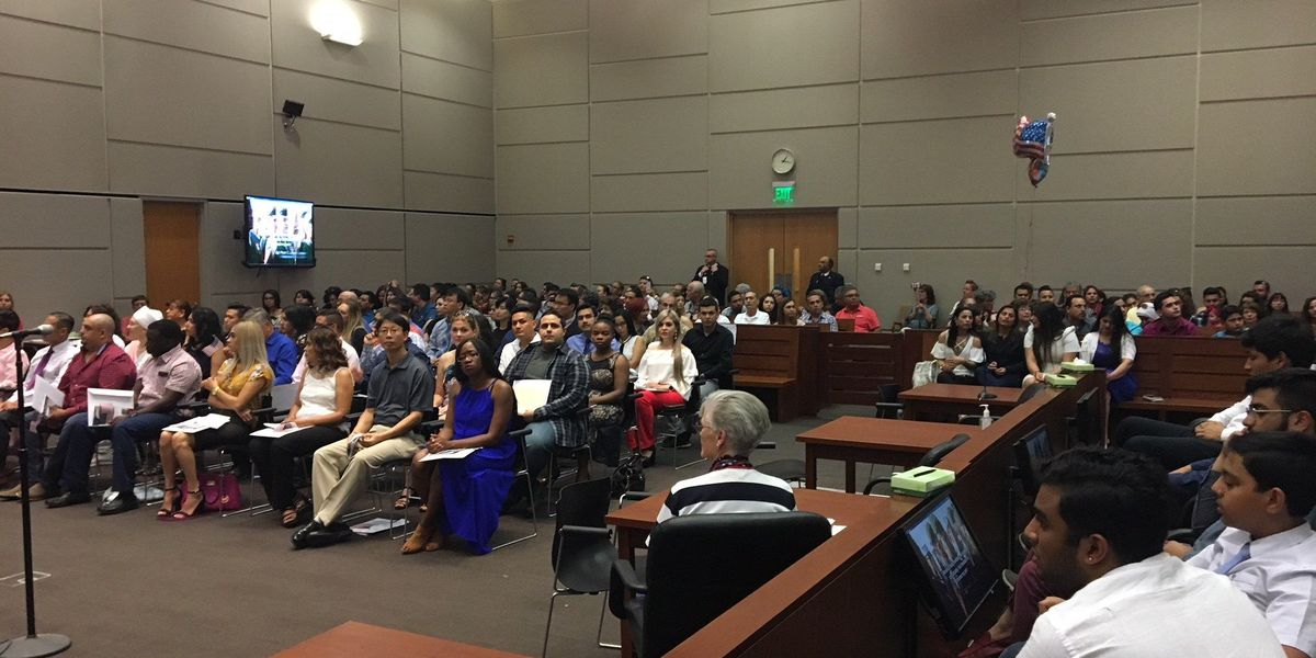 47 people become American citizens during naturalization ceremony