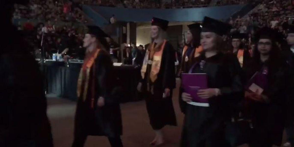 Thousands of graduates walk at PCC commencement