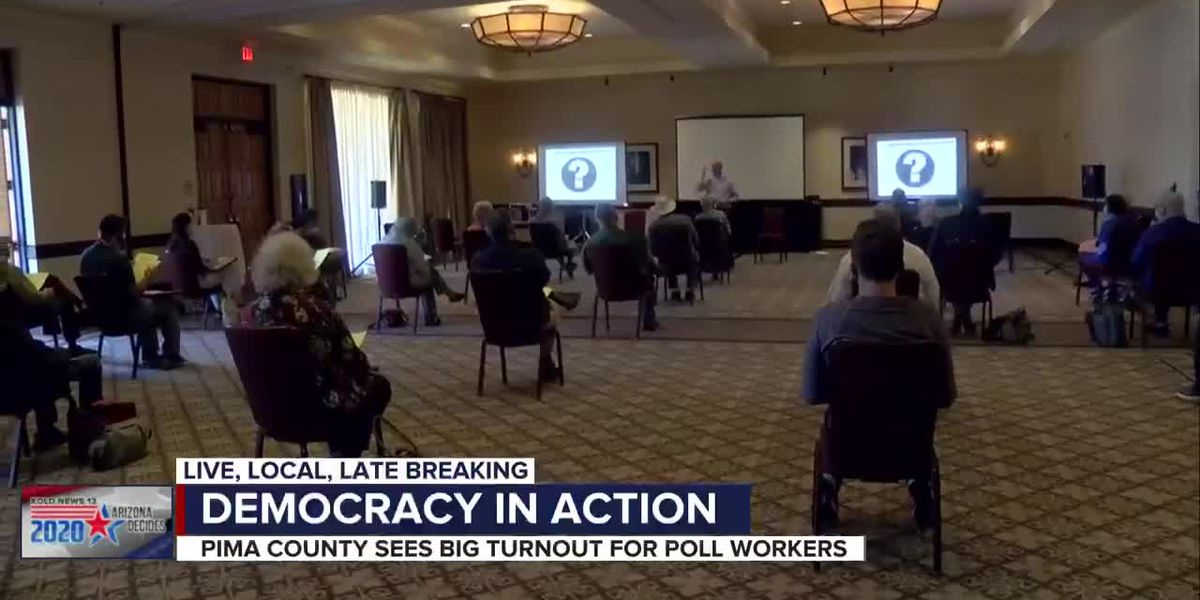 Pitching in at the polls: Pima County sees record poll worker sign-ups